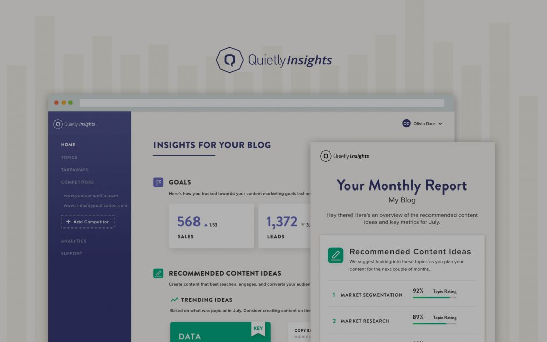 Know What Content Drives Conversions with Quietly Insights